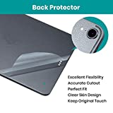"Klearlook Screen Protector Compatible with 2018 New (i) Pad Pro 11 inch, Back Skin Protector 3 Packs [No-Bubble] Back Texture Cover Sticker for 2018 (i) Pad Pro 11"" [ Keyboard"