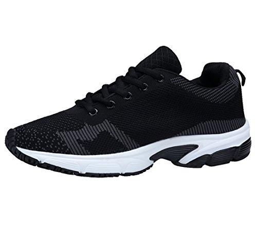 entraînement running baskets course basket sport Chaussures ete de Homme XKMON Compétition Noir1 wIqB100x