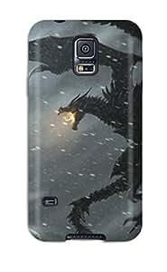 For Galaxy S5 Fashion Design Skyrim Case-GVOprrI2857wntxX