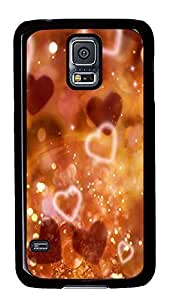 spec Samsung Galaxy S5 cases Hearts And Sparkles PC Black Custom Samsung Galaxy S5 Case Cover