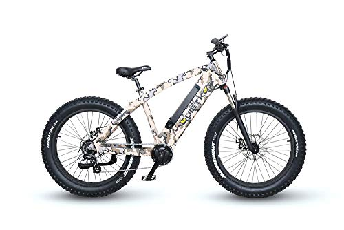 QuietKat Warrior 1000 Electric Bike for Backcountry, Hunting and Fishing, Camo, 19