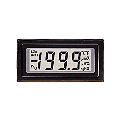 Lascar DPM 2000 3-1/2 Digit LCD Voltmeter, Annunciators, Bandgap