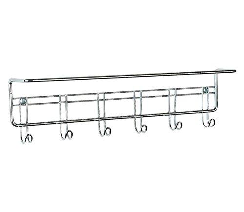 ClosetMaid 3064 6-Hook Towel Rack, Chrome by ClosetMaid