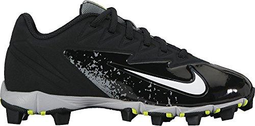 (Nike Boy's Vapor Ultrafly Keystone Baseball Cleat Black/White/Wolf Grey/Cool Grey Size 3 M US)