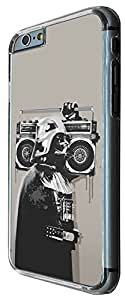 351 - Banksy Grafitti Darth Vader Design For All iphone 6 plus 5.5 inch Fashion Trend CASE Back COVER Plastic&Metal