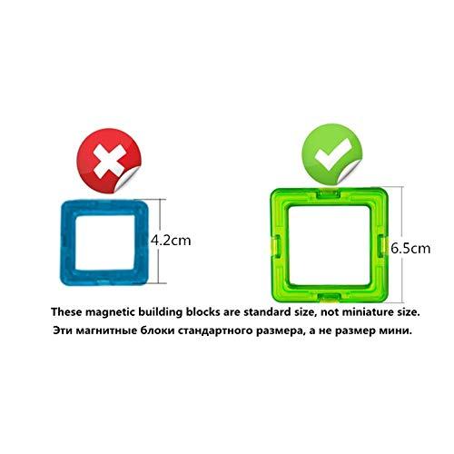 JohnCalbe A&T Big Size Magnetic Designer Construction Set Model & Building Toy Magnets Magnetic Blocks Educational Toys for Children by JohnCalbe (Image #6)