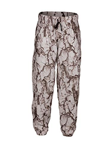 Natural Gear Snow Cover-up Pant Men's Camo Pants, Snow Pants Made from 100% Brushed Poly Tricot, Waterproof, Windproof - Natural Gear ()