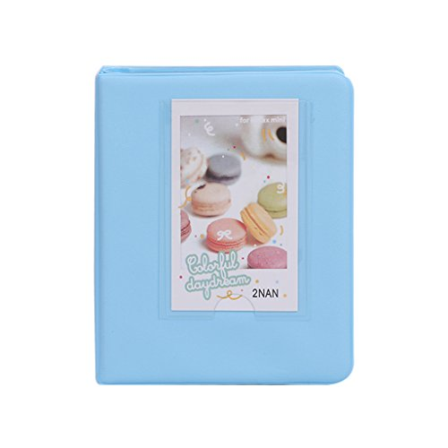 Buybuying Photo Album Book Film Cases For Fujifilm Fuji Polaroid Instax Mini8 7s 25 50s 90 5 Colors Optional (Sky Blue)