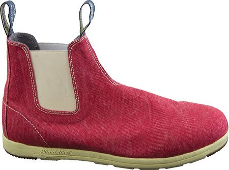 Blundstone1424 - Canvas - botas de caña baja Unisex adulto Red