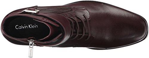 Amazon.com   Calvin Klein Men\'s Stokely Leather Boot   Boots