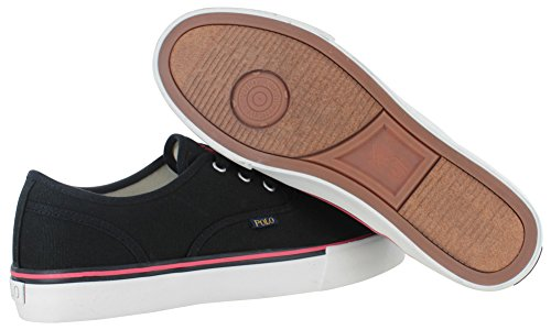 Polo Morray Sneaker Uomo Polo Nero Canvas