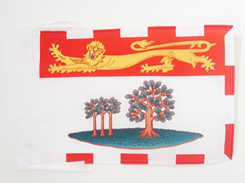 - AZ FLAG Prince Edward Island Flag 18'' x 12'' Cords - Canada - Canadian Region of Prince Edward Island Small Flags 30 x 45cm - Banner 18x12 in