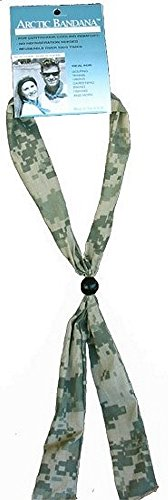 Arctic Cooling Bandana Neck Coolers Neck Cooling Scarf - Army ACU Digital Camo