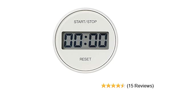 MUJI Intuitive Time Setting Dial Kitchen Timer /無/印/良/品