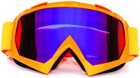 スキーゴーグル、ダブルレンズスキー/スノーボードゴーグル、防曇コーティング、オフロードゴーグル、オフロードバイク防風メガネ、風と砂の下り坂