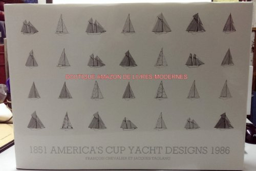 America's cup yacht designs, 1851-1986