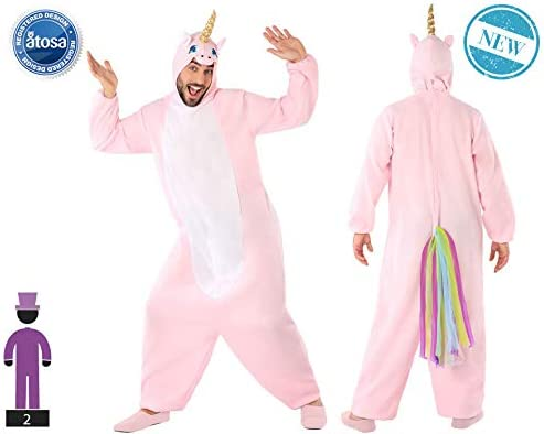 Atosa-61434 Atosa-61434-Disfraz Unicornio-Adulto Hombre, Color ...