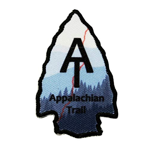 Appalachian Trail Patch Forest America Travel Dye Sublimation Iron On Applique