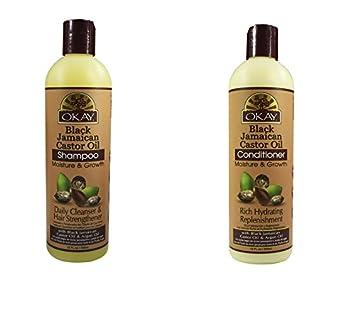 amazon com valuable set okay jamaican castor oil moisture