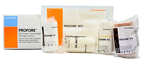 (PROFORE Multi-Layer Compression Bandage System 66020016, 1box)