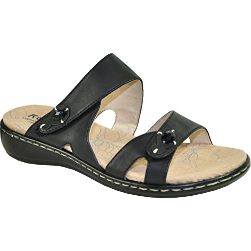 KOZI Women Orthopedic Sandal OR5103 with Hook-and-Loop Straps well-wreapped