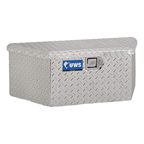 UWS EC20411 34-Inch Aluminum Trailer Tongue Tool Box with Low Profile