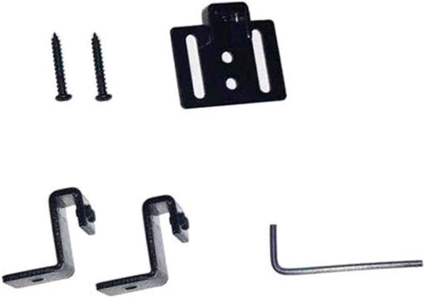 4 St/ück Soft Close Mechanism Puffer D/ämpfer Sets f/ür Schiebet/üren Holz T/ür Hardware Kit Track System Zubeh/ör Remission mit Schrauben Free Size schwarz
