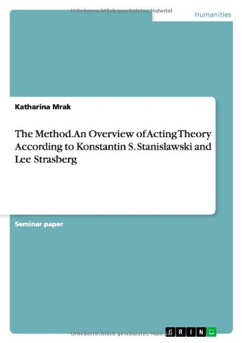 Download The Method. An Overview of Acting Theory According toKonstantin S. Stanislawski and Lee Strasberg pdf epub