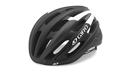 Giro Unisex Foray Road Cycling Helmet, Black/White, Large/59 - 63 cm