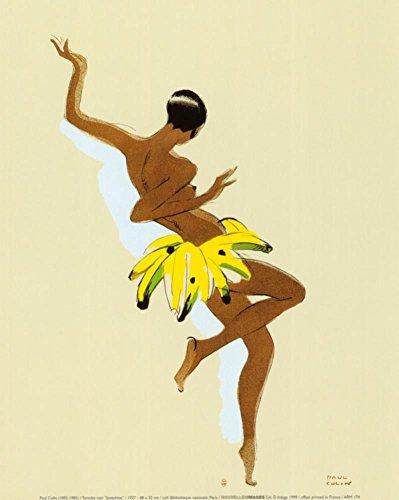 Black Thunder, Josephine Baker Art Print by Paul Colin 9 x ()