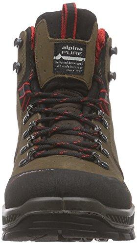 Alpina Helios Hiking Boot - 691V1 -Brown - 8 eu4oCRaE