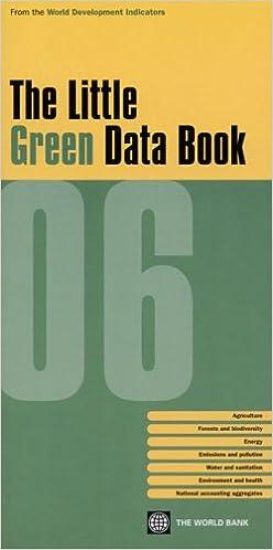 Book The little green data book 2006