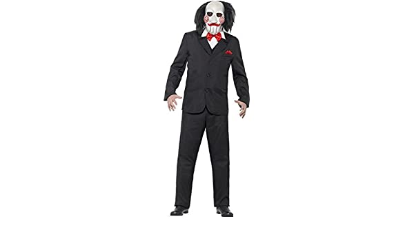Hombre Jigsaw Saw Disfraz talla XL Pecho 46