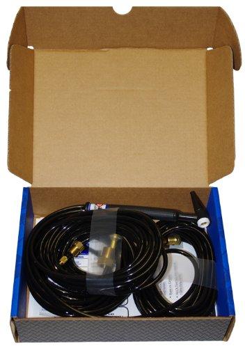 Black CK Worldwide CK20-25 Standard Series Water Cooled TIG Torch