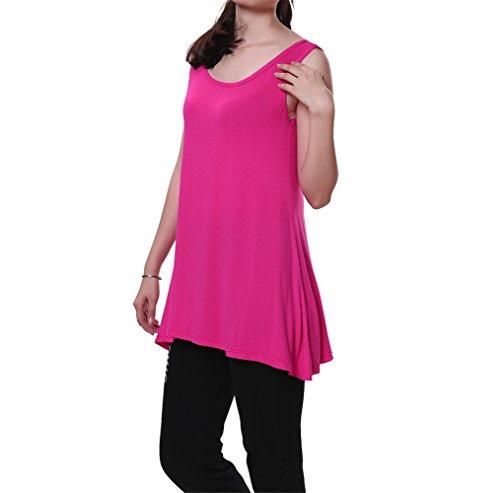 Womens Sleeveless Line Tunic Basic