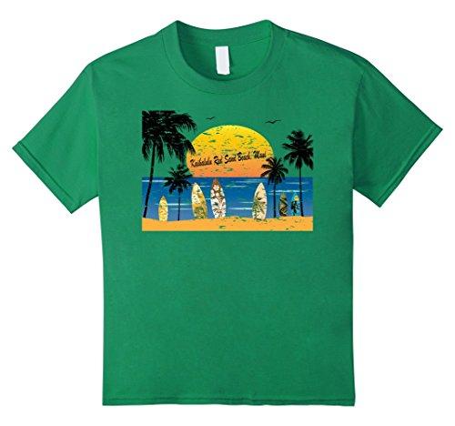 unisex-child Kaihalulu Red Sand Beach, Maui, Hawaii T-Shirt 12 Kelly - Green Beach Maui