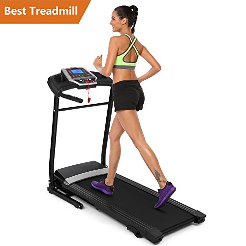 Folding Electric Treadmill Incline Motorized Running Machine Home Gym Exercise (2.25HP Treadmill)