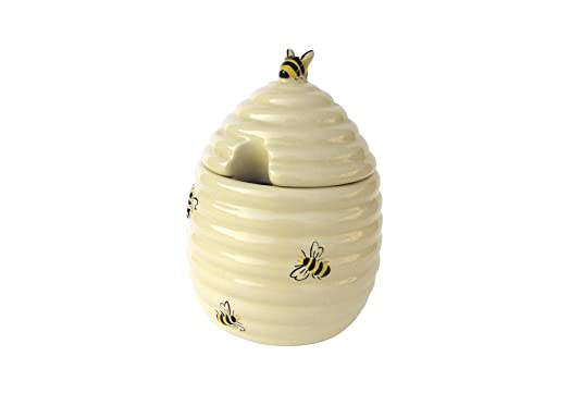 The DRH Collection BIA Honey Bees Bee Pot With Lid 493427 1500
