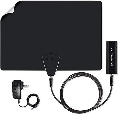 Antennas Direct ClearStream Flex antena de televisión inalámbrica para interiores, rango de más de 40 millas, compatible con red WiFi, grabación y pausa de TV en vivo, aplicación gratuita, guía de canal,