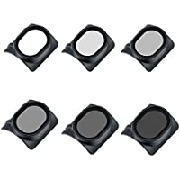 6 in 1 Lens Filter Set MCUV CPL ND4 ND8 ND16 ND32 for DJI Spark Drone Camera