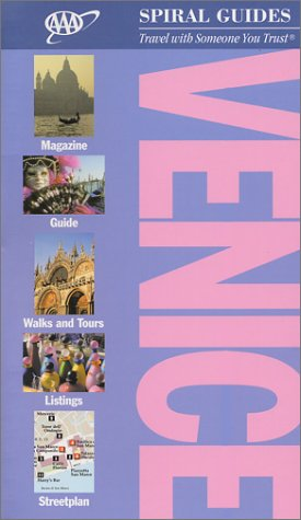 AAA Spiral Guide to Venice: 2002 Edition (AAA Spiral Guides) -