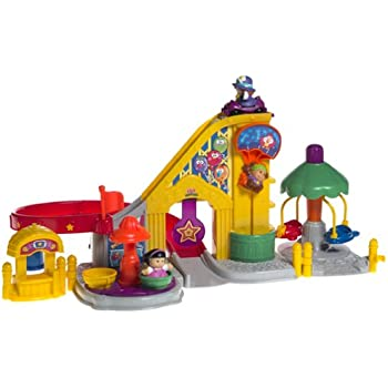 Fisher Price Little People RED ROLLER COASTER CAR for CARNIVAL AMUSEMENT PARK