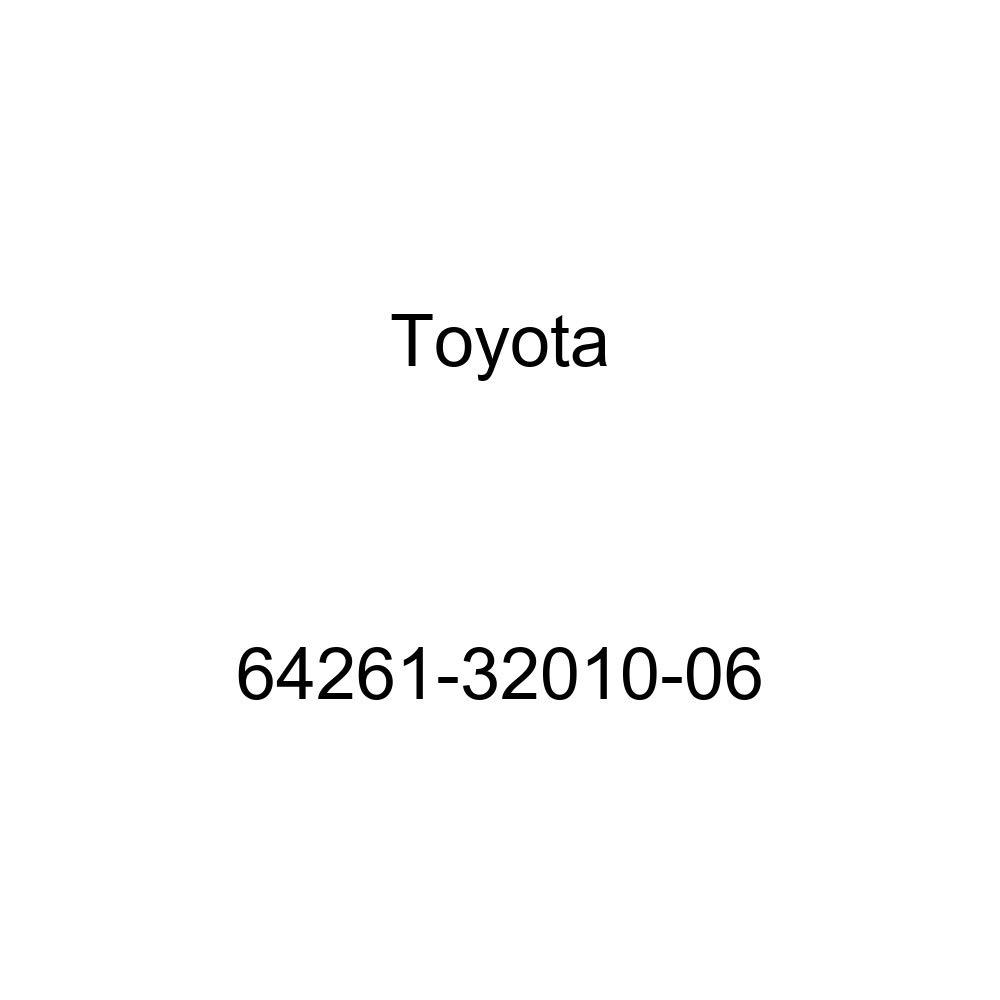 Toyota 64261-32010-06 Room Partition Garnish