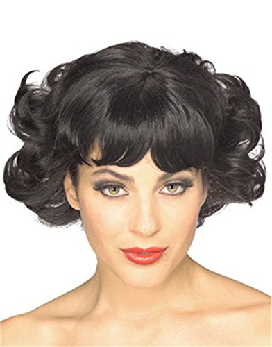 Rubie's Costume Cutie Flip Wig, Black, One Size - Betty Boop Wig