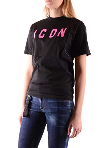 T Dsquared2 S75gd0008s22427978x Negro Algodon Mujer shirt Owg8IqgBx
