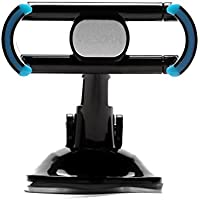 WESDAR Car Mount Cell Phone Holder for Windshield Dashboard Universal Car Cradle for iPhone/Smartphone/GPS,C8-Bl