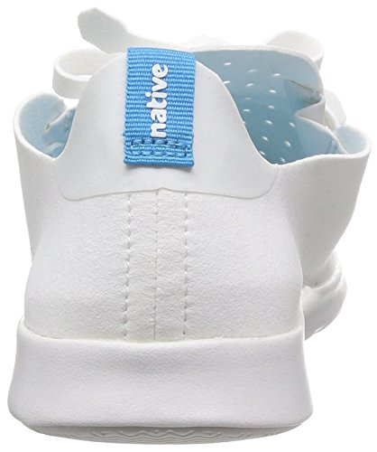 White Shell Fashion Shell Native Apollo Unisex Moc Shell Sneaker White Rubber Ox7qA8