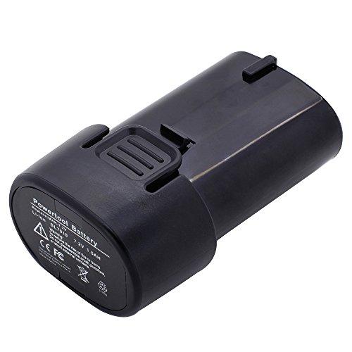 Battery2go - 1 year warranty - 7.2V Battery For Makita GN900SE, GN900SEP4, TD021D, TD020D, CL072DS, TD021DZW