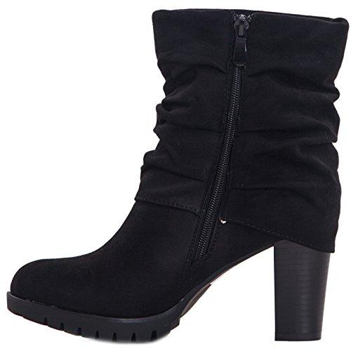 Toocool ,  Damen desert boots Schwarz