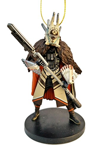 Star Wars Holiday Ornament - Enfys Nest from Solo: A Star Wars Story Figurine Holiday Christmas Tree Ornament - Limited Availability - New for 2018